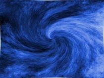Blauer Strudel  von Ivy Müller