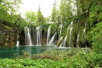 Wasserfall von Heinz E. Hornecker