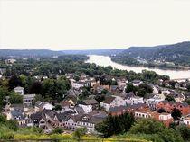 Blick in das Rheintal! von Heinz E. Hornecker