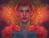 Archangel Gabriel by Damir Martic
