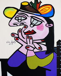 PICASSO BY NORA  BUG EYES by Nora Shepley