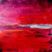 rotes Bild Landschaft  von Conny Wachsmann