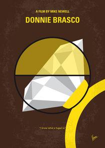 No766 My Donnie Brasco minimal movie poster by chungkong