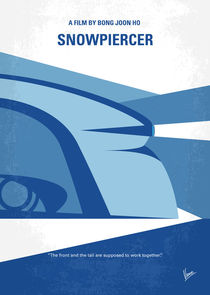 No767 My Snowpiercer minimal movie poster by chungkong