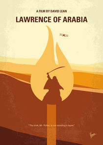 No772 My Lawrence of Arabia minimal movie poster von chungkong
