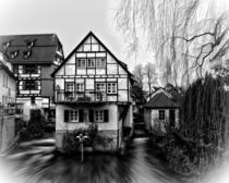 Old half-timbered house by Michael Naegele
