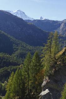 Breithorn und Klein Matterhorn by Torsten Krüger