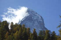 Matterhorn in den Wolken von Torsten Krüger