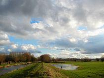 Himmel und Wolken über dem Niederrhein   von Frank  Kimpfel