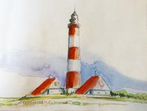 Westerhever Leuchtturm von Sonja Jannichsen