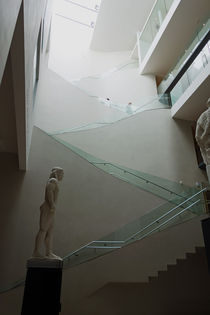 Treppenhaus Ashmolean Museum Oxford by Hartmut Binder