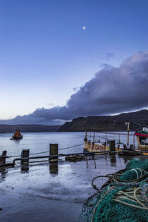 Portree lifeboat, RNLB Stanley Watson Barker anchored by Bruce Parker