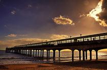 Boscombe Pier Sunset von Nigel Finn