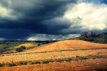 Storm Over Landscape by Nigel Finn