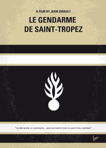 No186 My Le Gendarme de Saint-Tropez minimal movie poster von chungkong