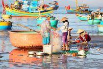 Das bunte Treiben der Fischer in Vietnam von ann-foto
