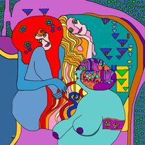 Wenn man an Gustav Klimt denkt ... die feindlichen Gewalten! by SUSANNE eva maria  FISCHBACH