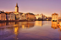A Zurich Sunset von Nigel Finn