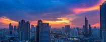Sonnuntergang über Bangkok / Sunset over bangkok