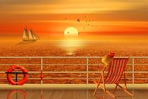 Sommer, Sonne, Urlaubsreise von Monika Juengling