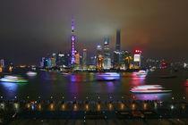 shanghai skyline view from the Bund by Mirko Lehne