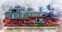 Dampflokomotive by Peter Roder