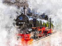 Dampflokomotive by Peter Roder
