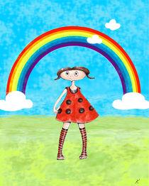 Tünchen allein unter dem Regenbogen von Kiki de Kock