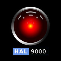 HAL 9000 von Gaspar Avila