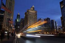 Durch Chicago bei Nacht von buellom
