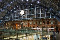 Bahnhof St. Pancras in London, 2 by Hartmut Binder