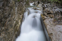Steinbach Wasserfall Felsspalte von Rolf Meier