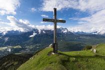 Hoher Ziegspitz Gipfelkreuz von Rolf Meier