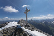 Gamsjoch Gipfelkreutz by Rolf Meier