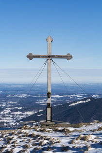 Hirschberg Gipfelkreutz by Rolf Meier