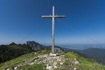 Hintererkirchstein Gipfelkreutz von Rolf Meier