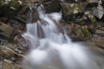Stalllauer Bach kleiner Wasserfall von Rolf Meier