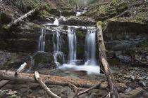 Stalllauer Bach Wasserfälle von Rolf Meier