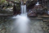 Stalllauer Bach Wasserfall Rinnsal von Rolf Meier