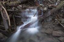 Stalllauer Bach Geröll Wasserfall von Rolf Meier