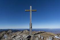 Krottenkopf Gipfelkreutz von Rolf Meier