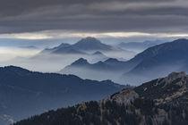 Ausblick Große Klammspitze Richtung Südosten von Rolf Meier