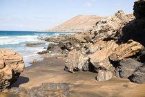 Beach on Fuerteventura, Spain von Susi Stark