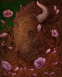 Buffalo Bloom by Anneliese Mak