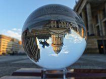 Blick auf den Deutschen Dom am Gendarmenmarkt by schroeer-design