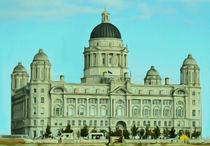 Port of Liverpool Building (Digital Art) von John Wain