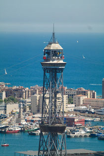Port cable car Barcelona von stephiii
