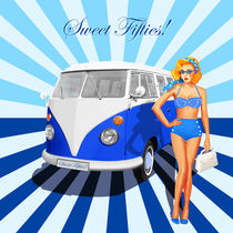 Sweet fifties with Pin up girl by Monika Juengling