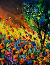 poppies 615091 by pol ledent