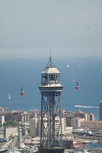 Port cable car Barcelona von stephiii